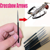 20PCS/40PCS 4mm PLASTIC ARROWS AND WITH THE METAL HEAD FOR THE MINI  CROSSBOW ARROWS