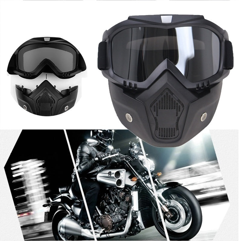 Motorcycle Helmet Goggles Mask Off-road Goggles Tactical Goggles Riding Windshield Glass