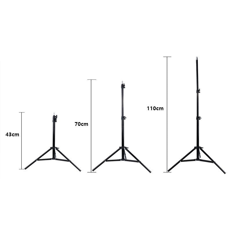5500K 12inch/30cm Ring Light Dimmable Fill Lamp For Youtube/Tik Tok Channel Live Photography Vedio Phone Selfie With 110CM Lightweight Stand Tripod