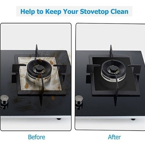 Reusable Gas Range Stovetop Burner Protector Liner Cover For Cleaning Kitchen Tools