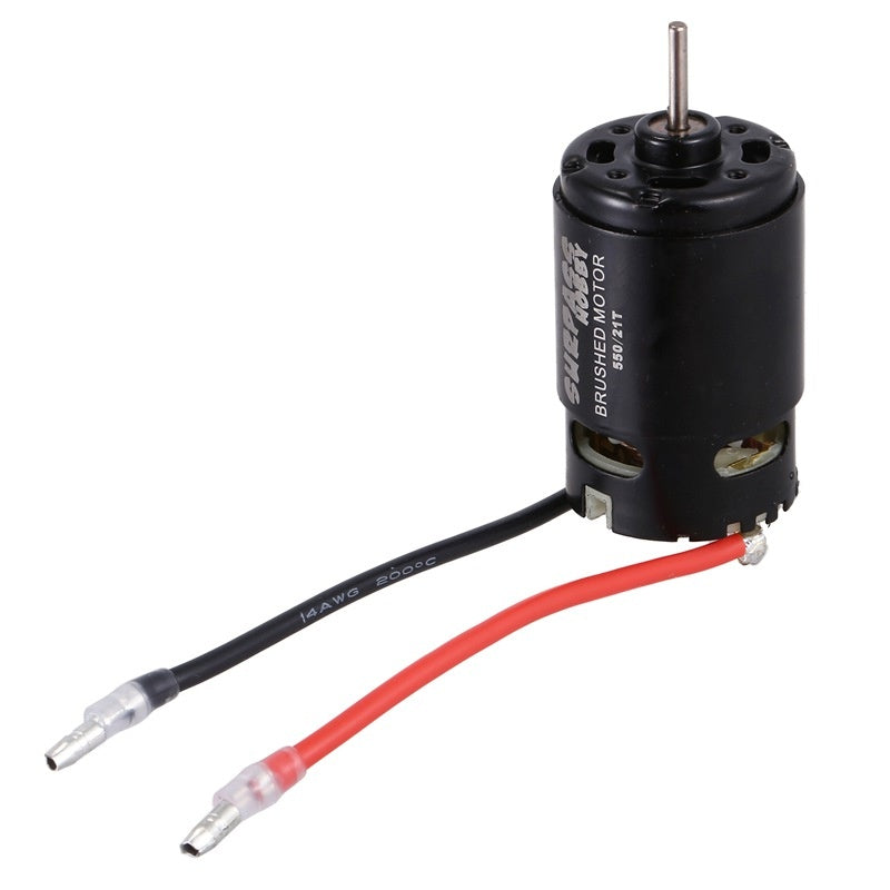 SURPASS HOBBY 550 Brushed Motor 21T 7.4V 13000RPM 600W RC Motor for HSP HPI Wltoys Kyosho TRAXXAS RC Car Parts