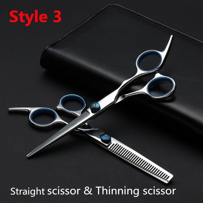 Professional Hair Cutting Scissors Set Hair Scissor Hairdressing Scissors Barber Thinning Scissors Hair Cutting Shears Kit for Barber Salon and Home