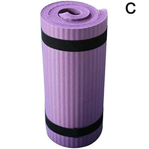 Non-slip NBR Pilates Yoga Mat Home Exercise Meditation Pad Gym Workout Fitness