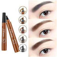 Load image into Gallery viewer, 4 Points Eyebrow Pen Waterproof makeup tools