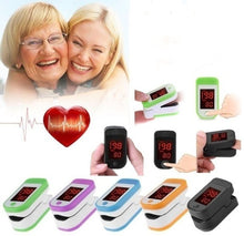 Load image into Gallery viewer, Pulse Oximeter Monitor Finger Pulse Oxymeter Digital Oxygen Meter