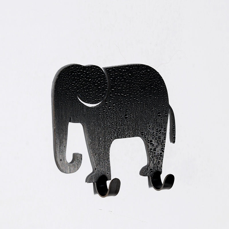2pcs High Quality Animal Self Adhesive Hooks for Bathroom Kitchen Hanger Stick on Wall Hanging Door Clothes Towel Racks