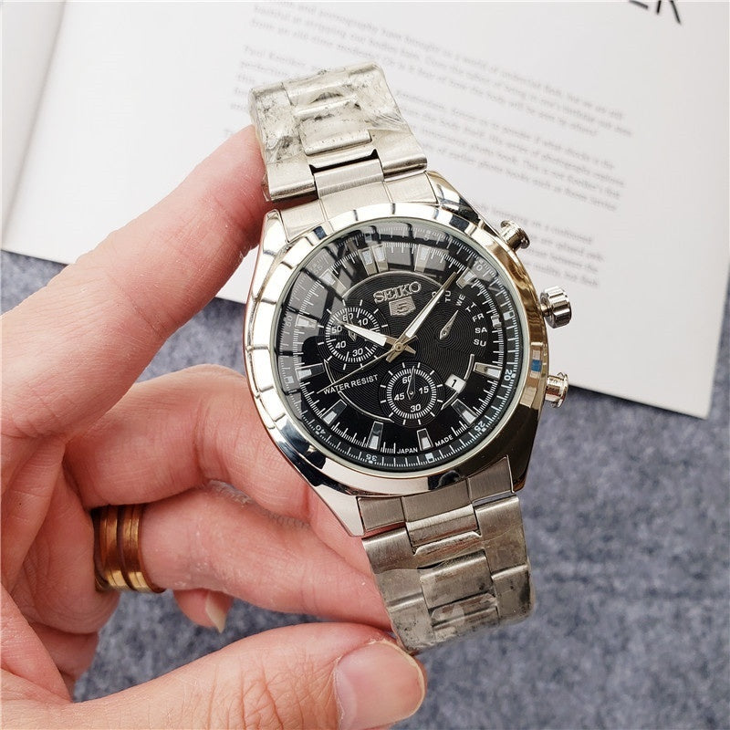 Men's Watch Top Brand Luxury Business Sport Quartz Clock Waterproof Watch Men's Automatic Personality Watch Seiko Watch SEIKO