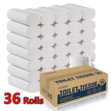 36 Rolls Toilet Tissue Ultra Soft Toilet Paper 4-layer Toilet Paper