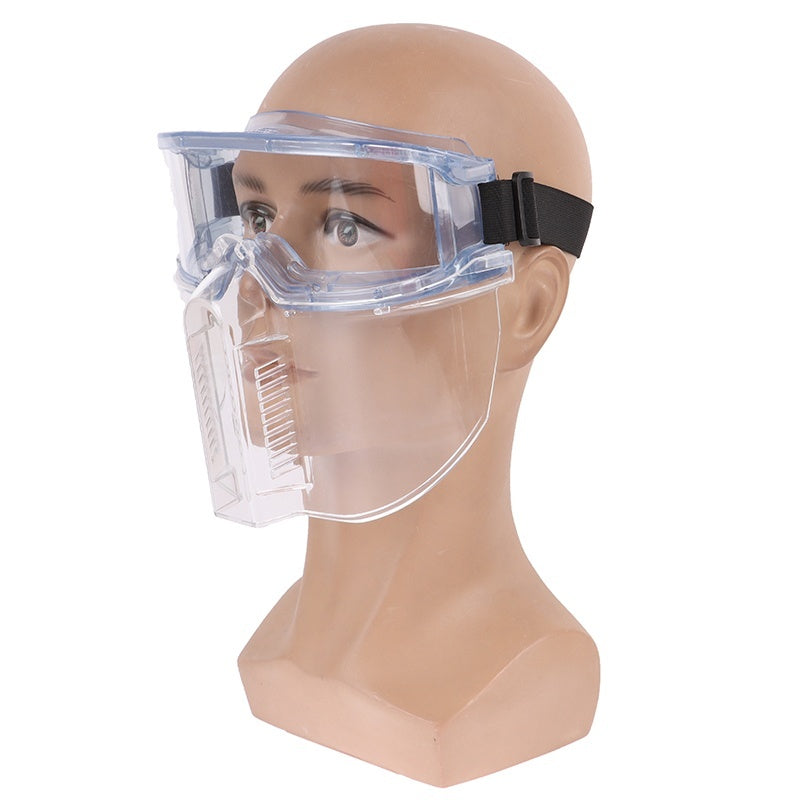 Protective Goggles Face Screen Fully Enclosed Eyepiece Anti-fog Anti-splash Goggles