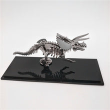 Load image into Gallery viewer, Mechanical Creative Toy Decoration DIY Steel Warcraft 3D Metal Puzzle Assembly Scorpion King Dinosaurs Animals Stainless Steel Model Kit Toy Movable Joint Original Box