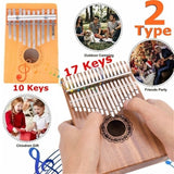 Personalized Gifts Brithday Gift Ideas, Unique Gifts for Friend Boyfriend Coworker Husband Musician Men Women Dad Brother Kids, Unique Musical Instrument Kalimba