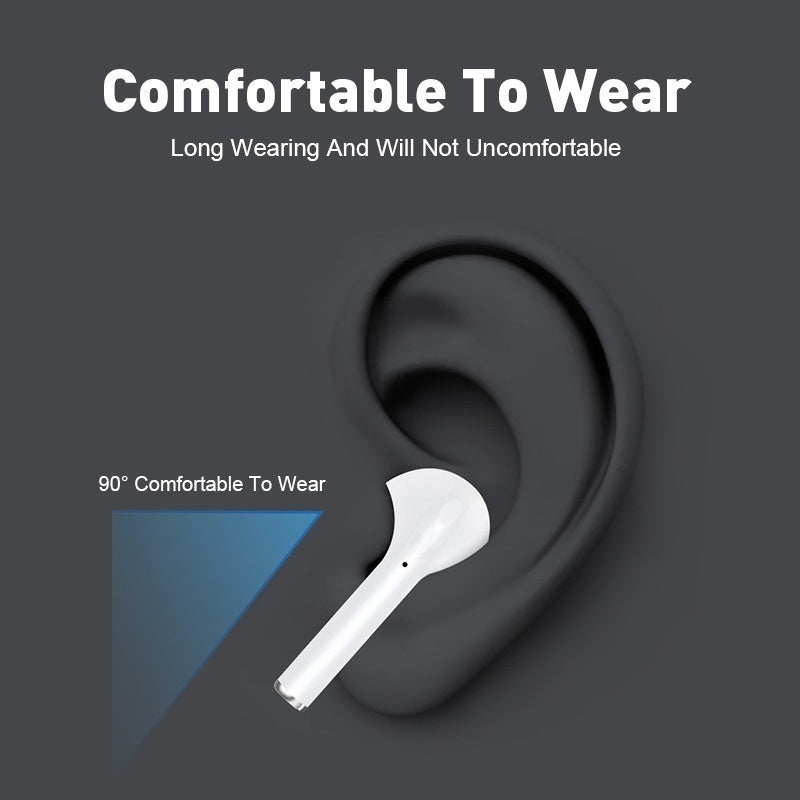 Original I12 TWS Wireless Bluetooth 5.0 Earphone Sports Sweatproof Headphone Touch Portable Earbuds