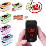 Finger Pulse Oxygen Saturation Monitor Blood Oximeter Blood Pressure Meter (random color)