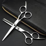 Professional 6 Inch 4cr Hair Scissors Cut Hair Cutting Salon Scissor Makas Barber Thinning Shears Hairdressing Scissors