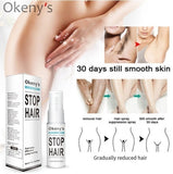 2019 New Powerful Permanent Hair Removal Spray 20ml Rejects Hair Regeneration Hair Growth Inhibitors Mild Moisturizing Unisex