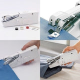 Multifunctional Mini Electric Sewing Machine Mini Sewing Professional Cordless Sewing Handheld Electric Household Tools