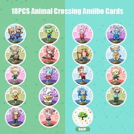 18/24/50/72PCS DIY Animal Crossing Switch Amiibo Card NFC Card TAG Cards of 3DS Wiiu NS