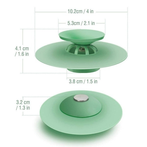 Kitchen Suckers Silicone Bathroom Anti-blocking Tools Kitchen Sink Drain Round Floor Drain Cover Plug Water Filter