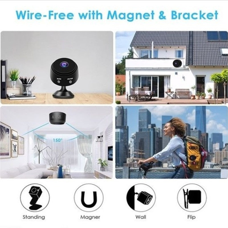 Mini Spy Camera Wireless WiFi HD 1080P IP Camera Night Vision For Home Security