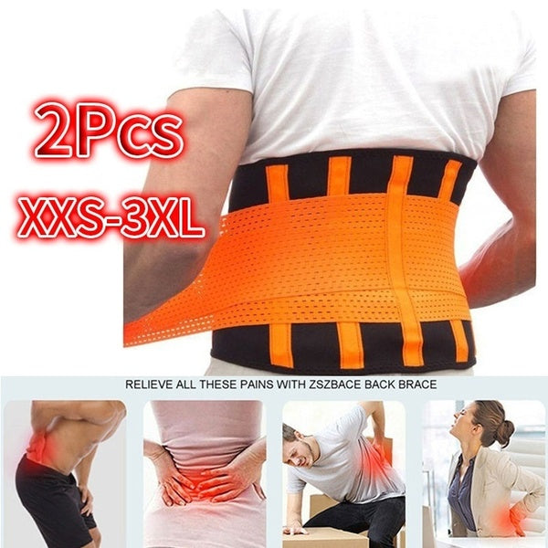 Lumbar Support Belt for Lower Back Pain Relief, Back Brace for Waist Protection