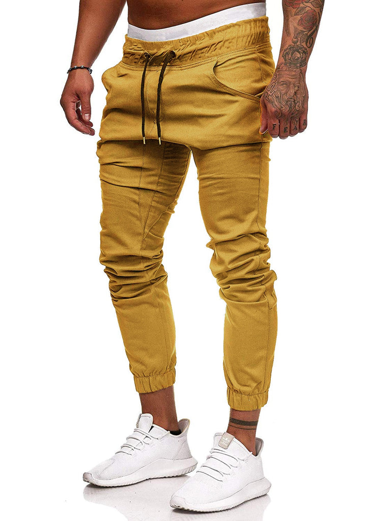 High Quality Men's Trousers Cargo Pants Casual Sports XL Drawstring Pants