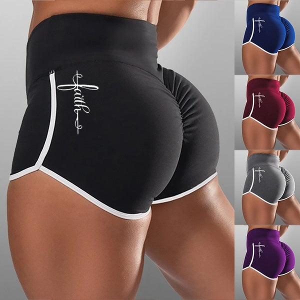 New Women Fashion Yoga Shorts Sports Running Gym Short Pants Leggings Athletic Elasic Summer Sports Shorts for Female Plus Size