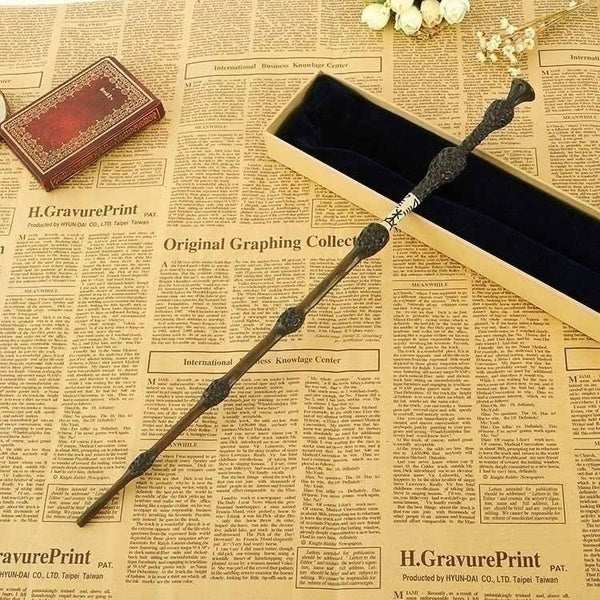 New Upgrade with Metal Core HP Series Magic Wand Cosplay Elder Wand