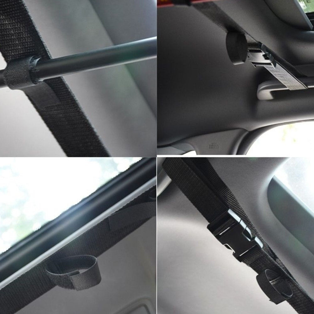 Car Fishing Rod Carrier Belt Rod Fishing Rod Protector Fishing Rod Bracket Belt Fixing Belt Fishing Tool Accessories Holder Belt