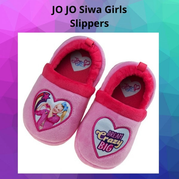 JO JO Siwa Girls Slippers