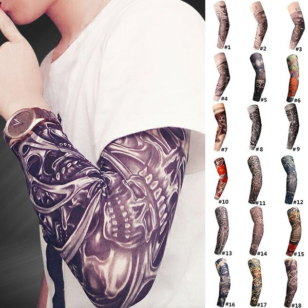 Unisex Sports Arm Sleeves Protective Golf Basketball Cycling UV Warmers Elbow Protector High-elastic Venting Arm Sleeves Sun UV Protection Cover Protector Pads Support 1pcs