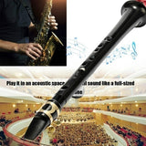 2020 NEW Black Pocket Sax Mini Portable Saxophone Little Saxophone With Carrying Bag Woodwind Instrument