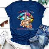 I Am Who I Am Your Approval Isn't Needed Shirt, Finger Shirt, Colorful Shirt, Lip Shirt, Gift for Women, Graphic Tee Shirt, Summer Fashion Women Short Sleeve Shirt, Plus Size Top
