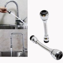 Load image into Gallery viewer, Tool Sink Mixer Kitchen Chromed Swivel Tap Faucet Nozzle Sprayer 360 Degree Aerator