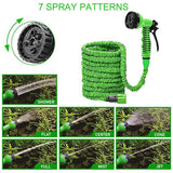 25FT-100FT Garden Hose Expandable Magic Flexible Water Hose Eu Snake Plastic Hoses Pipe With Spray Gun To Watering