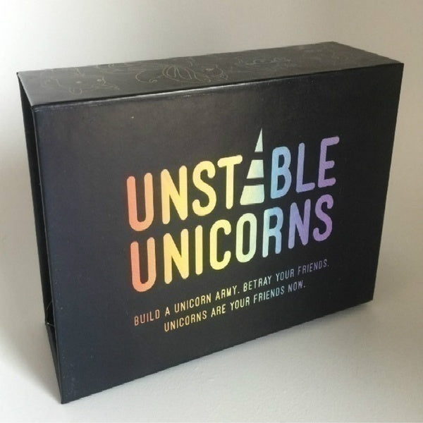 2020 Upgraded Unstable Unicorns 1 X Unstable Unicorns Base Game Board Game Party Card Game with 5 X Expansion Packs