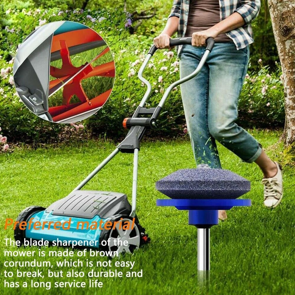 5 Colors Universal Lawn Mower Faster Blade Sharpener Grinding For Home And Garden