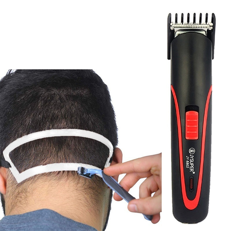 5Pcs/Set Portable Rechargeable Hair Clipper Electric Cordless Mini Hair Trimmer Hair Cutting Machine Beard Trimmer For Men Barber