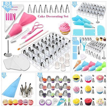 Load image into Gallery viewer, 10/27/32/72/83PCS Cake Turntable Set Cake Decorating Supplies Pastry Tube Fondant Tool