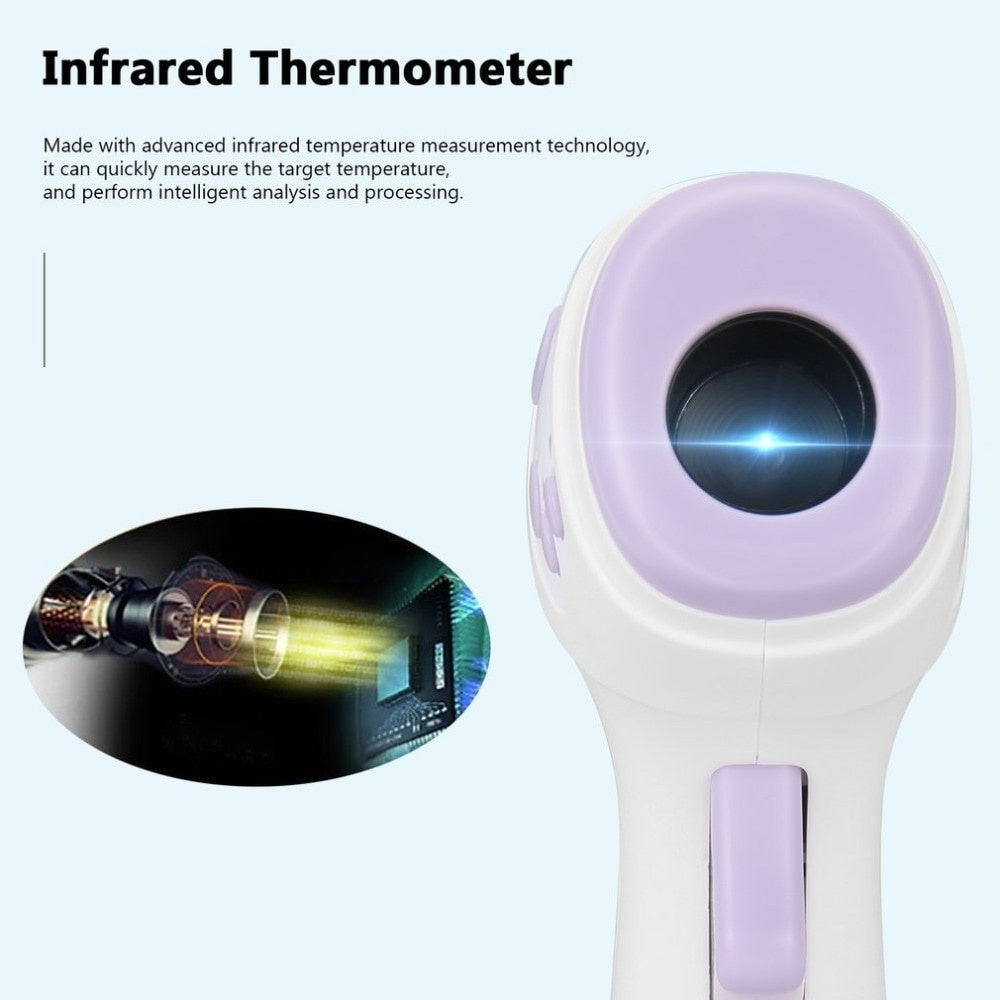 Dual Use Digital Portable Infrared Thermometer Non-contact Body Thermometer for Body & Surface