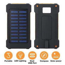 Load image into Gallery viewer, 2021 Style Best Gift !!! Waterproof Solar Power Bank 20000000mAh With 2USB Outputs,LED Flashlight External Battery Backup For All Type Phones