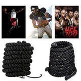 2020New 2.8M/3M Fitness Battle Rope Heavy Jump Rope Weighted Battle Skipping Ropes Training strength skipping Fitness skipping