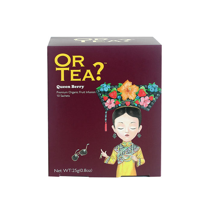 OR TEA? Queen Berry - Berries Infusion (25g)