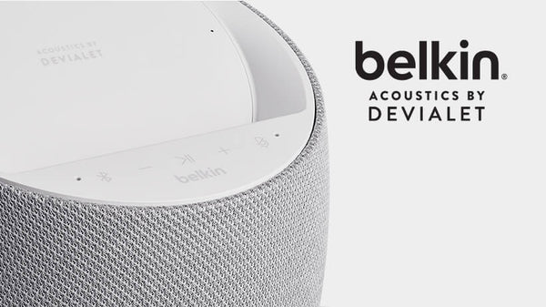 Belkin SOUNDFORM™ ELITE Hi-Fi Smart Speaker + Wireless Charger