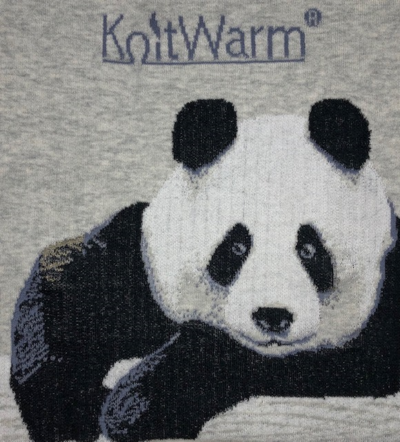 HK KnitWarm Warmerchief Panda