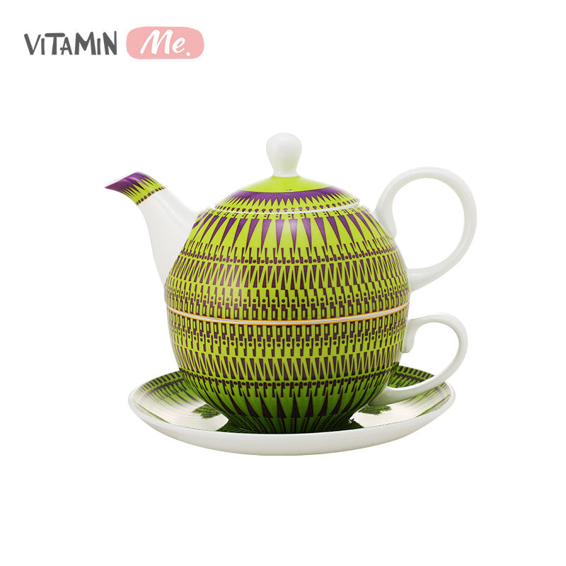 VitaminME Bone China Tea Set - POP ART GN