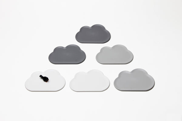 Qualy Cloud Small Tray - Coaster 6pcs MX