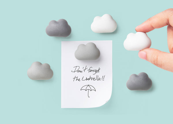 Qualy Cloud magnet set 6 pcs MX