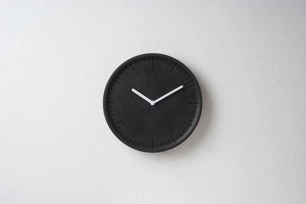 PANA Meter Black Wall Clock white hands