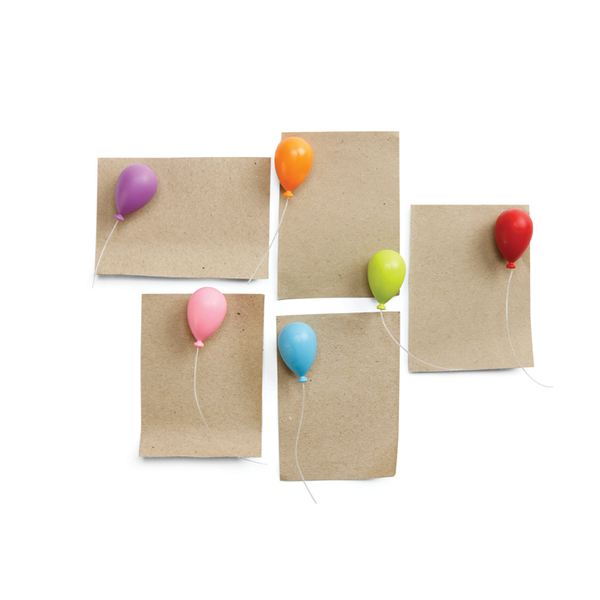 Qualy Balloon magnet set 6 pcs MX