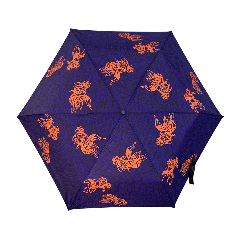 'Goldfish Waves' Ultralight Umbrella 超輕雨傘, 金魚波浪